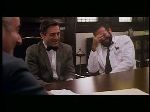 Robert De Niro and Robin Williams - outtake from Awakenings - HQ
