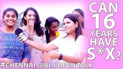16 Years Can Have Sex Chennai Girls Open Talk | Funnett