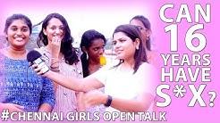 16 Years Can Have Sex Chennai Girls Open Talk   Funnett