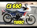 HONDA CX 650 TURBO - A TURBINADA DE FÁBRICA