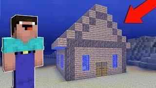 як зробити в майнкрафт підводний будинок