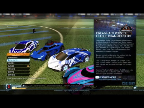DOING A ROCKET LEAGUE GIVEAWAY!!!!!!!!!!! GO TO DESC AND READ THE RULES!!!!!!!!!!!!!!