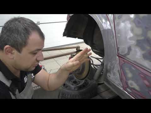 Opel Astra H наплавляем олово.