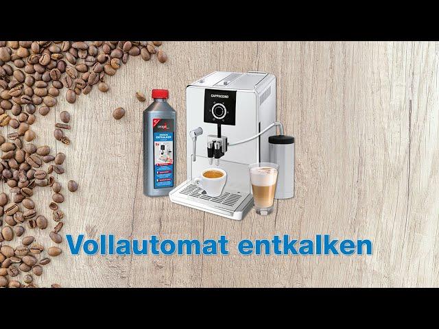Anleitung - Kaffeevollautomat entkalken