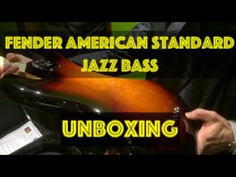 Fender American Standard Jazz Bass (UNBOXING)