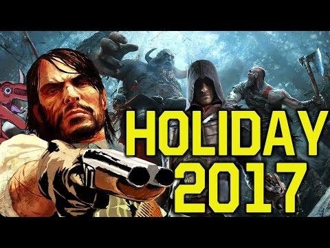 Holiday 2017 WILL BE HUGE! Games coming late 2017 (Star Wars Battlefront 2, Red Dead Redemption 2)
