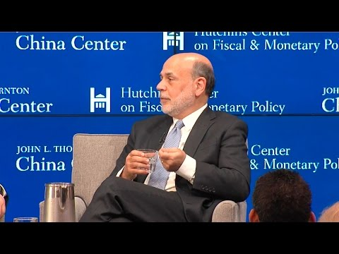 China and the global economy: A conversation with Yi Gang and Ben Bernanke