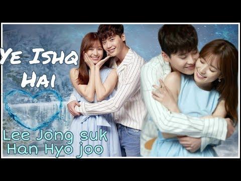 YEH ISHQ HAI   Jab We Met   Korean Mix   Bollywood Song   Lee Jong suk   W The Two Worlds