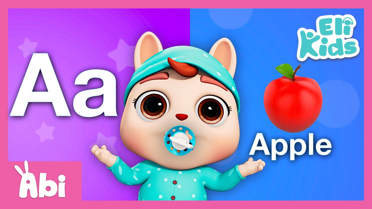 Baby Learns ABC | A for Apple | Alphabet Song | Eli Kids Songs & Nursery Rhymes Compilation