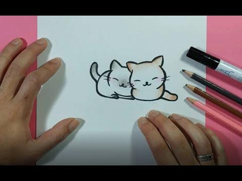 como-dibujar-gatos-paso-a-paso-|-how-to-draw-cats
