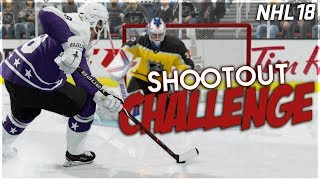 NHL 18 SHOOTOUT CHALLENGE #12 *ALL-STAR EDITION*