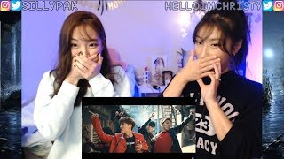 LAY, Jason Derulo, NCT 127 - Let's Shut Up & Dance MV REACTION W/ MY SISTER!