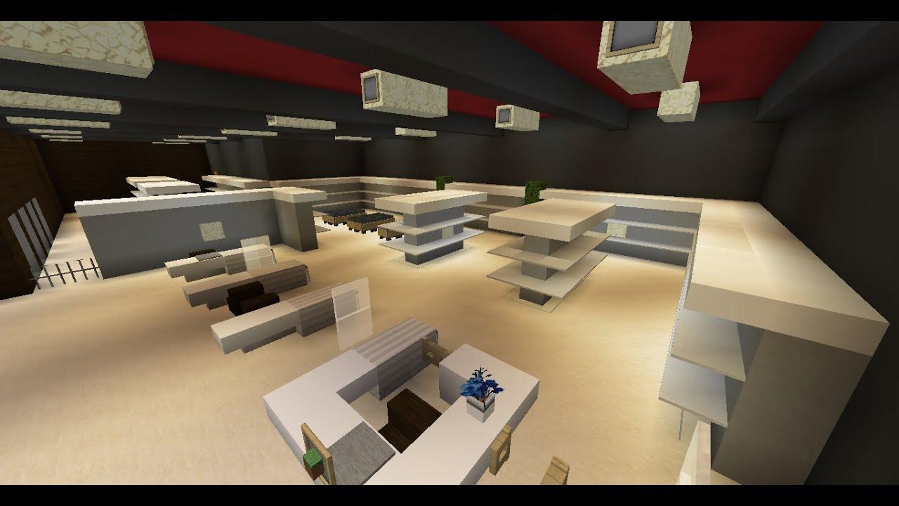 La ville moderne int rieur du super u 8 youtube for Ville super moderne