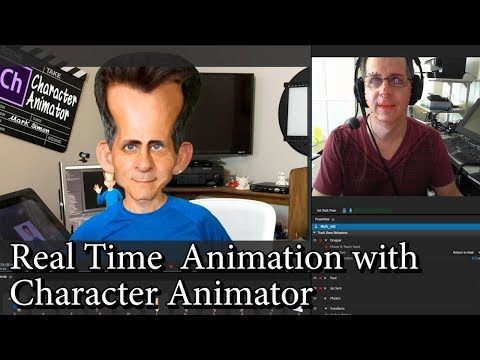 Animating Right Now with Character Animator