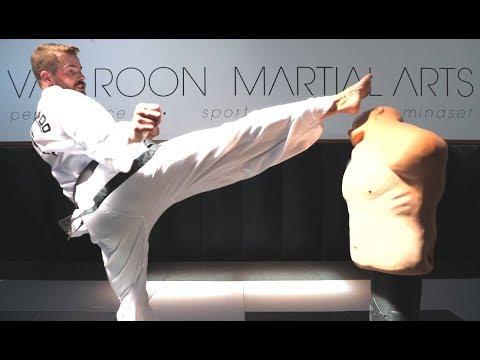 How To / Tutorial: 'Universal Chamber' For Taekwon-Do Kicking