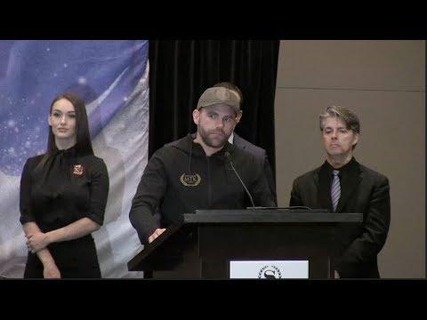 BILLY JOE SAUNDERS v DAVID LEMIEUX - OFFICIAL PRESS CONFERENCE FROM CANADA W/ FRANK WARREN