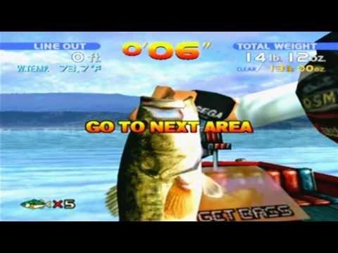 Sega Bass Fishing Game Sample - Dreamcast