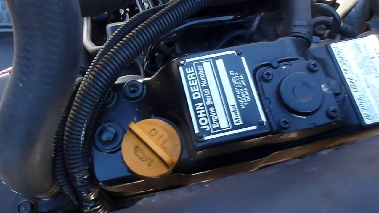 2005 John Deere 3225C Fairway Mower w/ 2489 hours w/ Yanmar 3TNV84 Diesel  Engine Parting Out