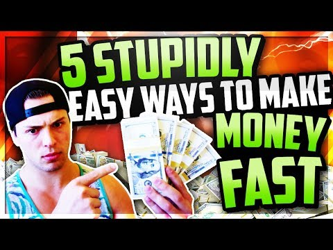 5 EASIEST Ways To Make Money Online In 2018 As A BEGINNER With NO MONEY