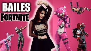 ⚫ THE NEW FORTNITE BAILES in REAL LIFE - Benhu