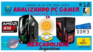 PC Gamers Mercadolibre Argentina PC excelente pc vs Xbox one/ps4 #18