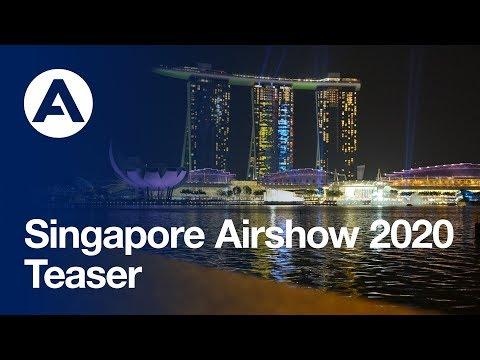 #SingaporeAirshow 2020 - Teaser