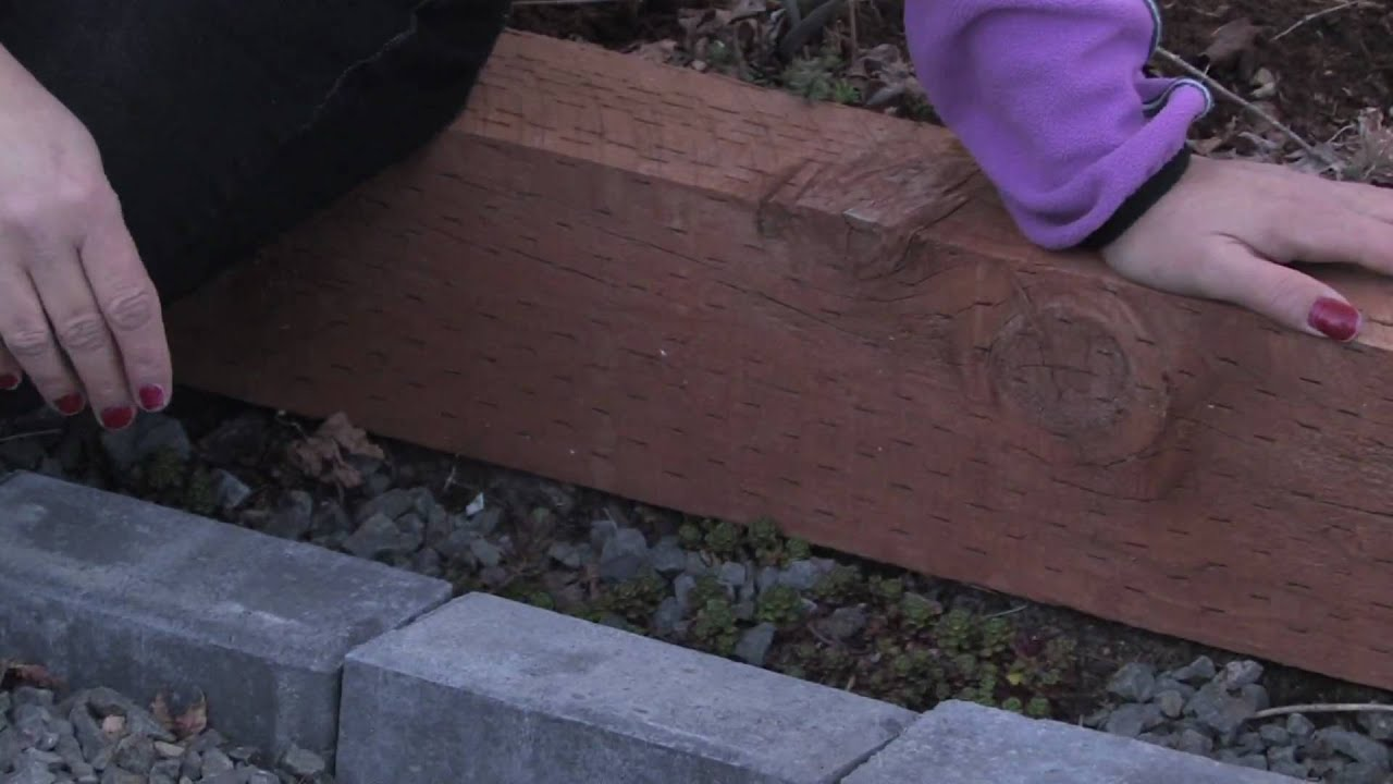 Gardening Tips How To Edge A Flower Bed With Bricks