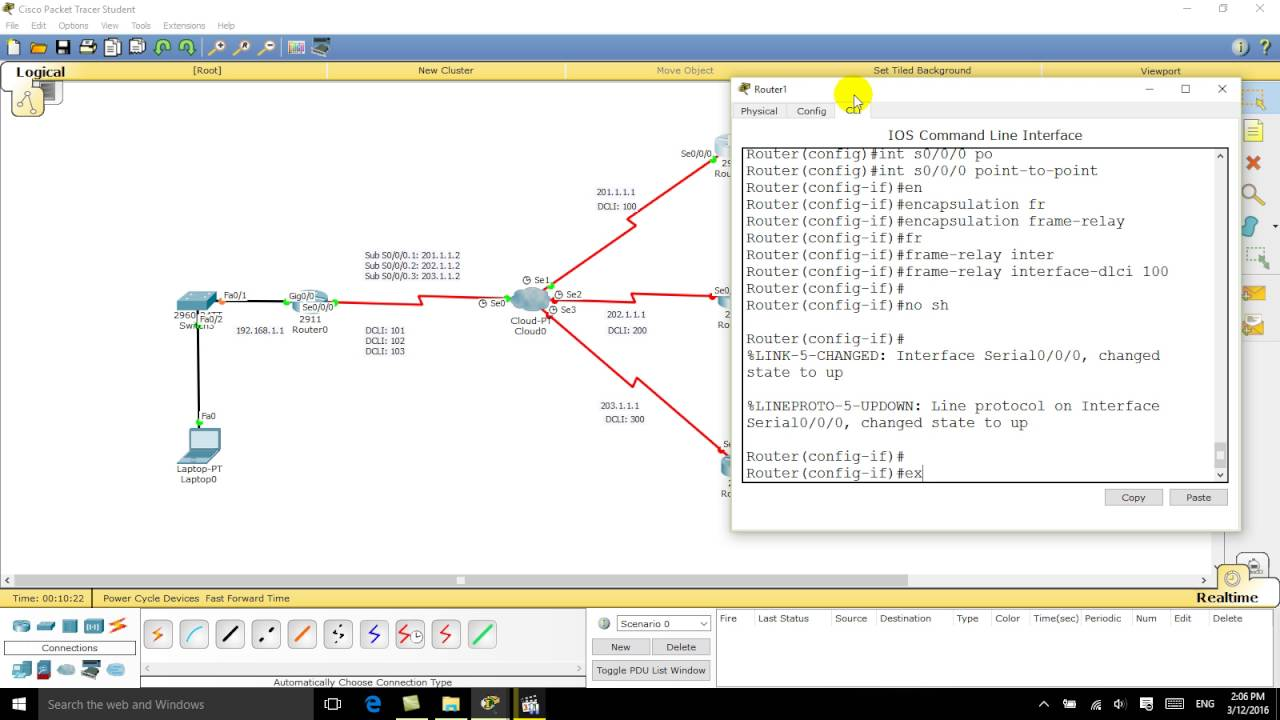 Configure Frame Relay Point to Point Sub Interface on Cisco Router ...