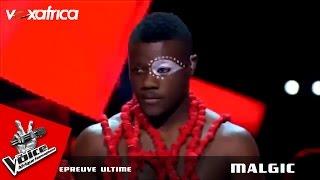 "Malgic - ""Agolo"" Angelique Kidjo | Epreuve ultime - The Voice Afrique francophone 2016"