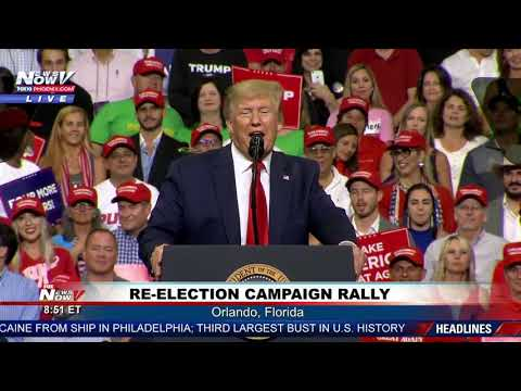 KEEP AMERICA GREAT: President Trump Lets Crowd Decide Campaign Slogan