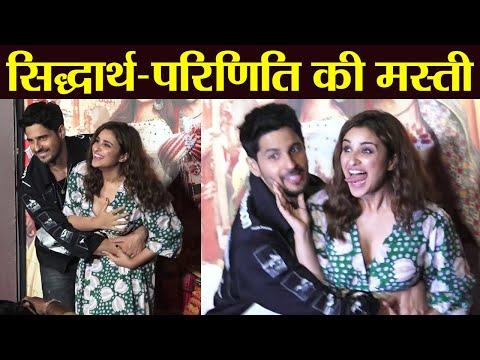 Parineeti Chopra & Sidharth Malhotra enjoy at Jabariya Jodi trailer launch | FilmiBeat Mp3