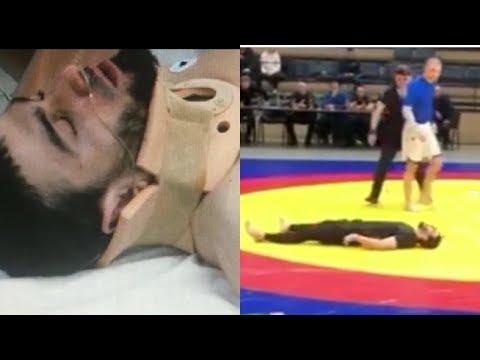 Борец из Дагестана сломал шею во время Кубка мира в Петербурге