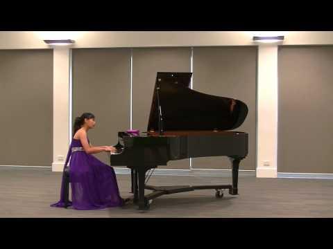 Nina Fan (13yrs) performed Mozart - Piano Sonata in B flat Major, K333. 1st Movement Allegro