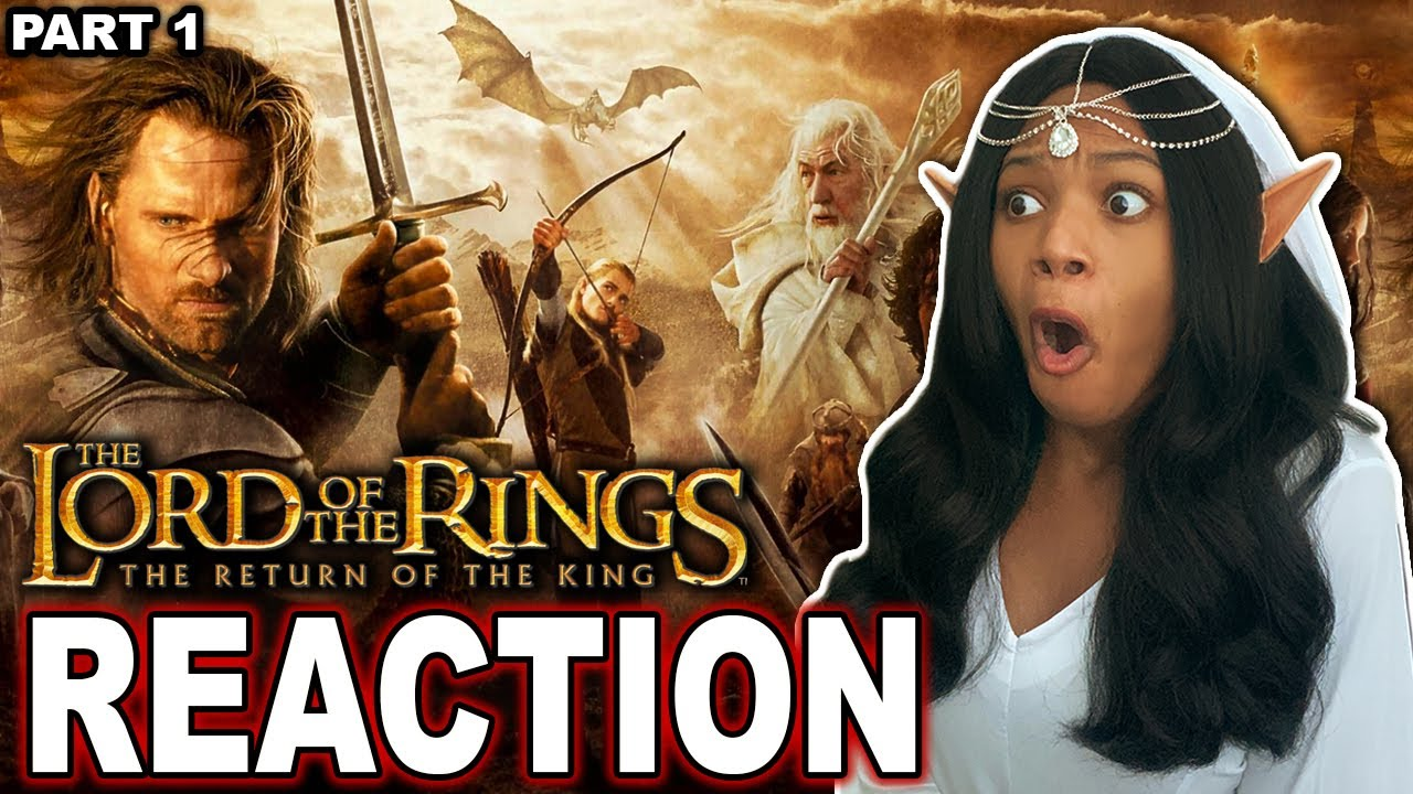 Download LORD OF THE RINGS: THE RETURN OF THE KING   FIRST TIME WATCHING   MOVIE REACTION (PART 1/2)