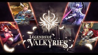 LEGENDS OF VALKYRIES ANDROID GAMEPLAY