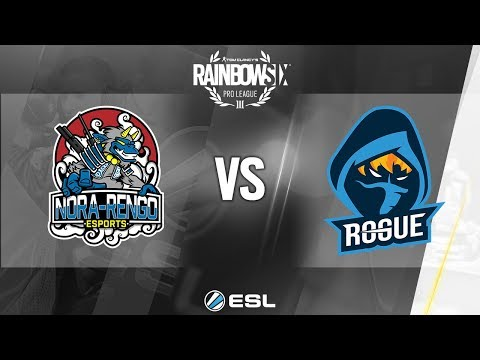 Rainbow Six Pro League - Atlantic City Finals - NORA-Rengo vs. Rogue - Day 1