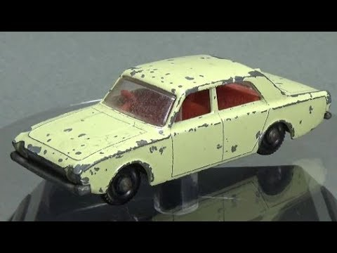 Matchbox Restoration: 1965 Number 45 Ford Corsair
