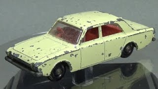 Matchbox Restoration: 1965 Number 45 Ford Corsair