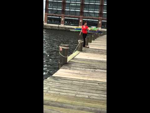 Swimming in Baltimore's Inner Harbor