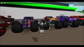 Roblox: Playing a monster jam game