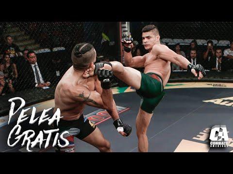 Pelea gratis: Rodrigo Vargas vs Mike De La Torre   MMA   Combate Americas
