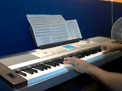 Hallelujah on Piano Yamaha Dgx-640 cover