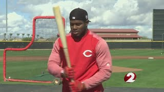 Yasiel Puig's color is RED
