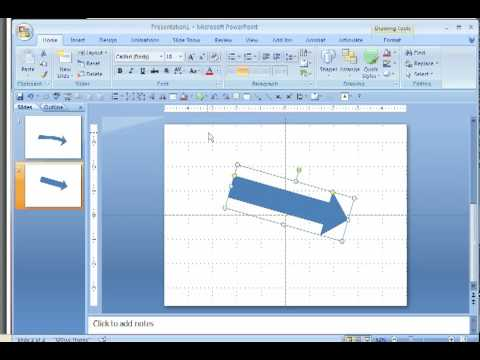 make a curved arrow in powerpoint - youtube, Powerpoint templates