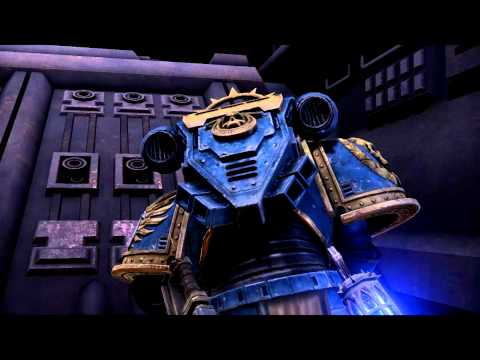 Warhammer 40K Space Marine pc game, Titan Invictus destroys the Orbital Spire