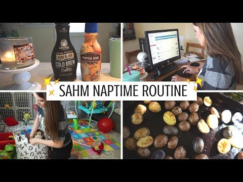 WHAT DOES A STAY-AT-HOME MOM DO DURING NAP TIME? | MY AFTERNOON ROUTINE!