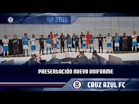 Cruz Azul presenta su nuevo jersey para el A 16 y C 17