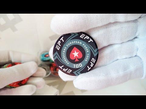 Покер набор 100 фишек EPT + пластиковые карты | Poker Set 100 Ceramic EPT Chips + Plastic Cards