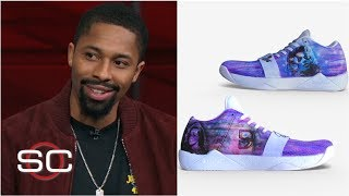 Spencer Dinwiddie wore his Beyoncé sneakers and dropped 33 points on the Rockets | SportsCenter