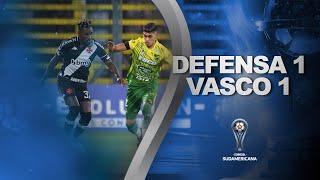 Melhores momentos | Defensa y Justicia 1 x 1 Vasco | Oitavas de final | Sul-Americana